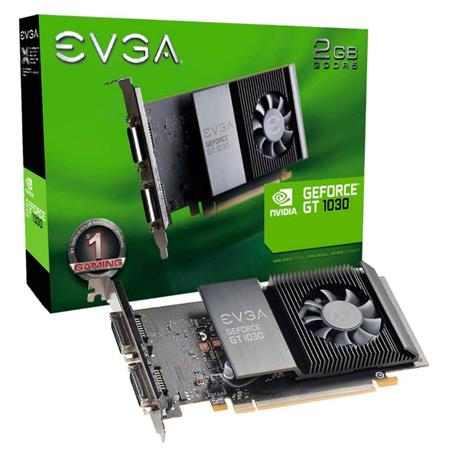 Placa de Video EVGA GEFORCE GT1030 SC 2GB GDDR5 Low Profile