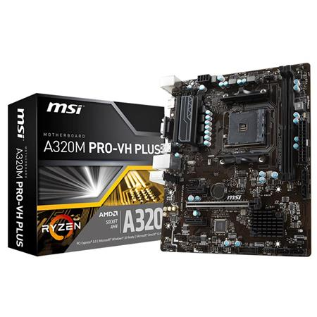 MOTHER MSI A320M-Pro VH PLUS AM4