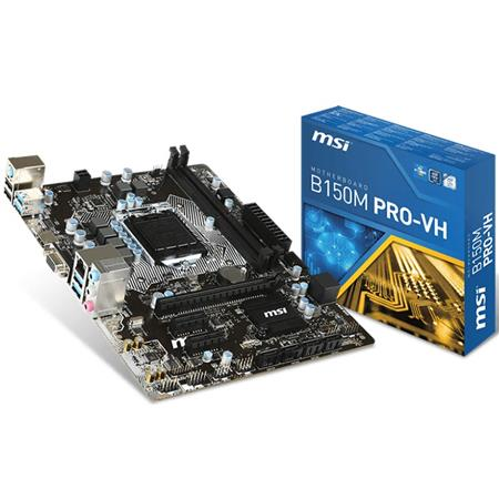 Mother MSI B150M Pro-VH LGA 1151