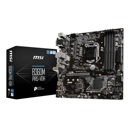 MOTHER MSI B360M PRO-VH LGA 1151