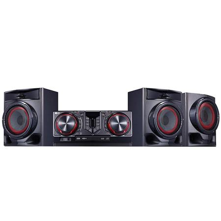 Minicomponente LG CJ45 CD/Bluetooth/Karaoke Star