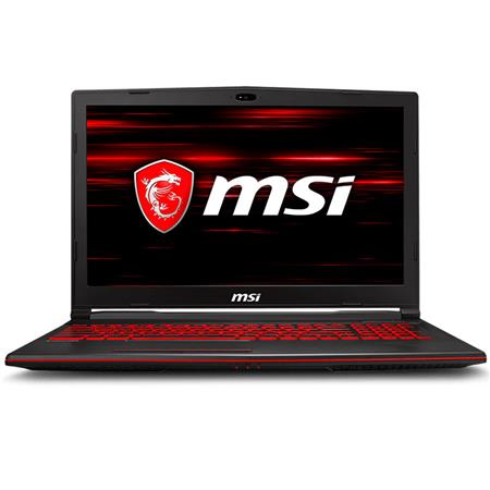 "Notebook Gaming 15.6"" MSI GL63 8RC"