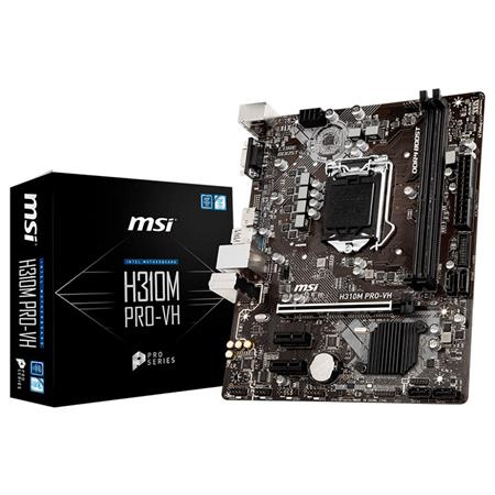 Mother MSI H310M PRO-VH INTEL LGA1151 8va. Gen