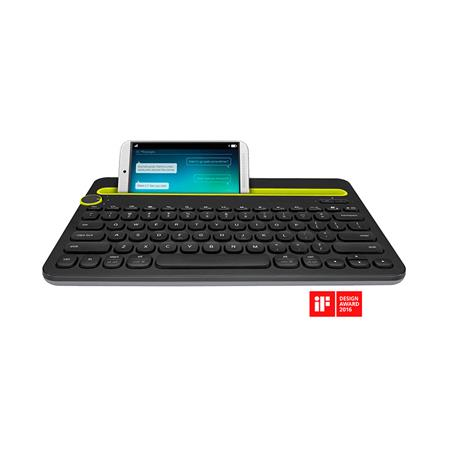 Teclado LOGITECH Bluetooth Multi-Device K480 Black