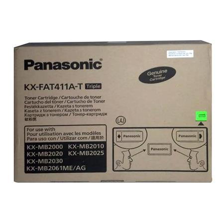 Toner PANASONIC KX-FAT411A-T Pack x3