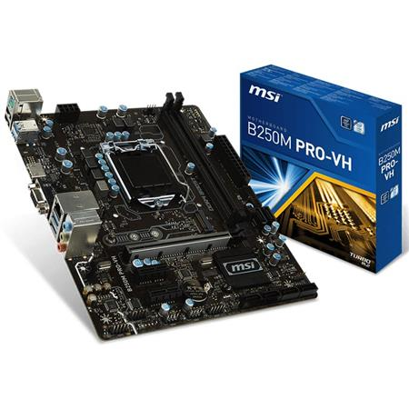 Mother MSI B250M Pro-VH LGA 1151