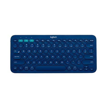 Teclado LOGITECH Bluetooth Multi-Device K380 Blue