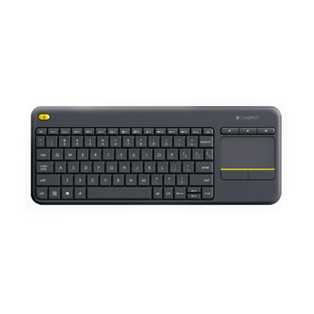 Teclado LOGITECH Wireless Touch K400 PLUS