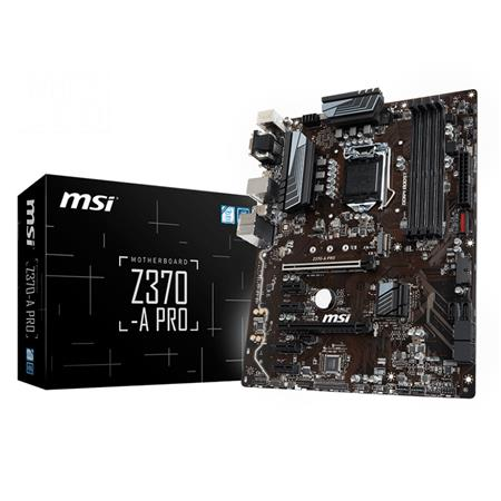 Mother MSI Z370-A PRO  INTEL 8va. Gen Sock 1151 9117B48005