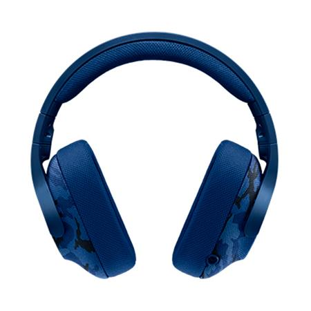 LOGITECH Gaming Headset G433 blue camo