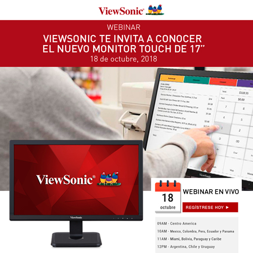 Webinar ViewSonic Tactil