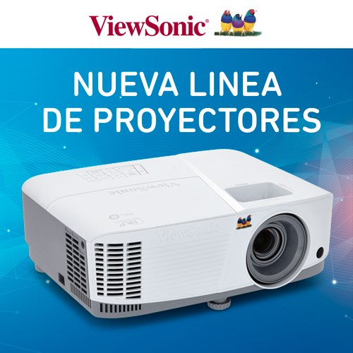 Proyectores Viewsonic 17-10-18